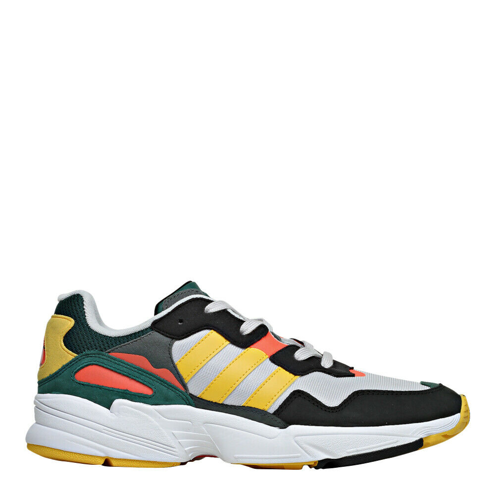 Adidas Men's Originals Yung-96 shoes  Yellow Green White Black orange - DB2605