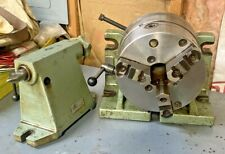 Bison 8 Horizontal Vertical Rotary Indexing Super Spacer With Chuck Amp Tail Stock
