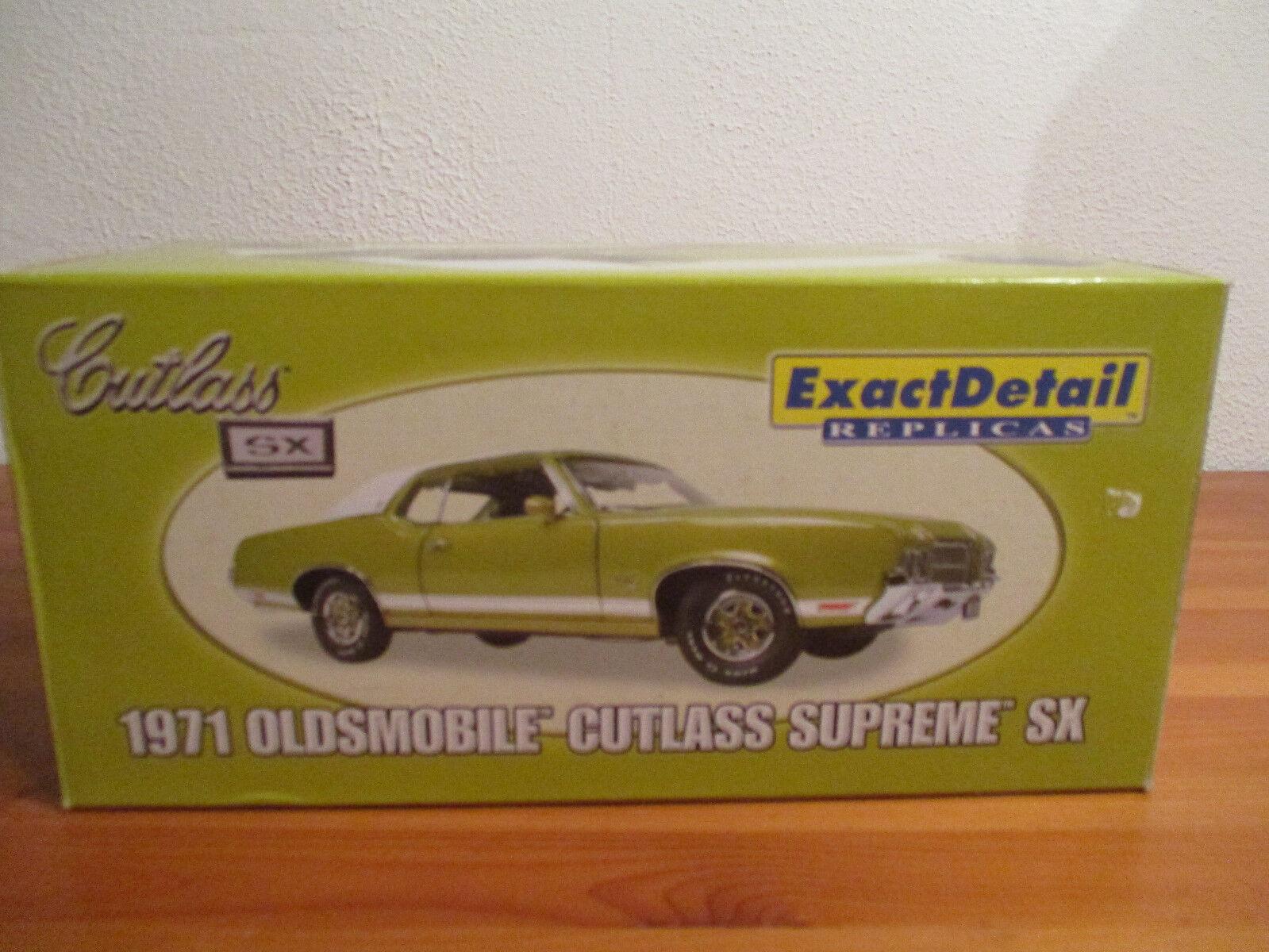 ( Go) 1 18 exact detail detail detail REPLICAS 1971 oldsmobile cutlass supreme sx 2b85f6
