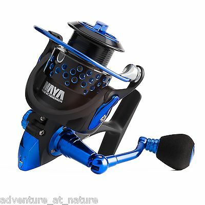 MAYA Fishing Jazz 30 Spinning Casting Shore Aluminum Reel With a Powerful Body