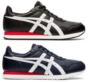 Chaussures-Asics-tiger-Runner-mexico-66-Homme-Noir-Bleu-1191A301-Basket