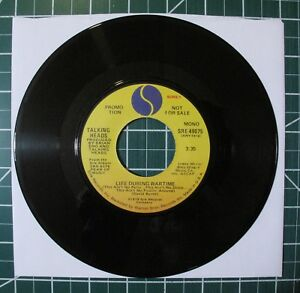 Details about Vintage Original 45 RPM Promo Mono & Stereo Talking Heads  Life During Wartime