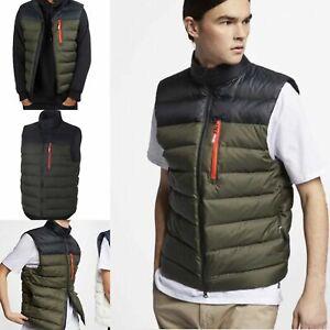 Details about NEW Nike SB Down Fill Men's Vest Skateboarding Sequoia 938510 011 Size L $150