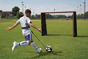 Image is loading Football-Kick-Trainer-Ball-Training-Tool-Soccer-Skill- 851d48e0e