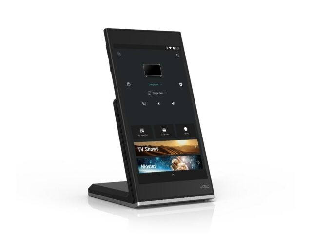 Vizio XR6P SmartCast Tablet Remote 6-inch LCD Display 16 GB Storage