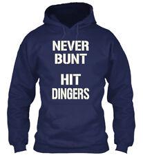 I/'d Rather Be Playing Baseball Play Hit Run Home Player Base Hoodie Sweatshirt