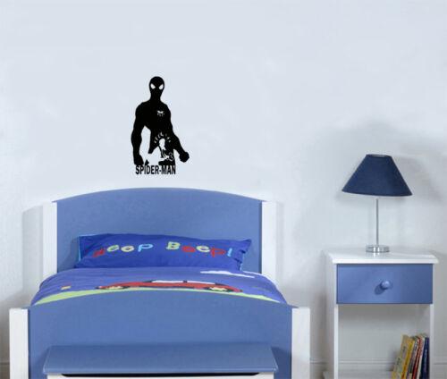 Spiderman Marvel Superhero Hero Children/'s Bedroom Decal Wall Sticker Picture