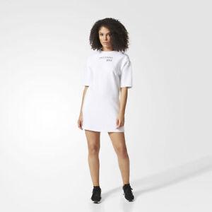 ea1c45094 Adidas Originals EQT Tee Dress All Sizes White Equipment BR5125 ...