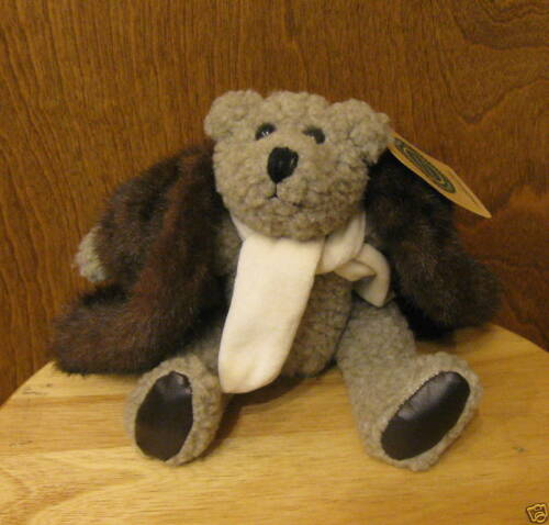 "Boyds Plush #9193 SKIDOO 9/"" Jointed Bear NEW//Tag From Retail Store ROARING 20/'s"