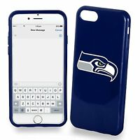 For Apple Iphone 7 Seattle Seahawks Tpu Soft Gel Protective Case Nfl