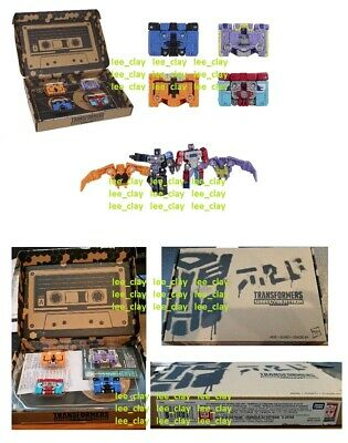 Transformers Generations Select Soundwave Spy Patrol 3rd Unit 4-Pack NEW SEALED