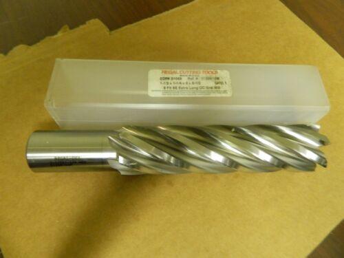 Regal 6 Flt SE CC End Mill 1-1//2 X 1-1//4 X 6 X 8-1//2 1-1//2 X 1-1//4 HSS 51069 New