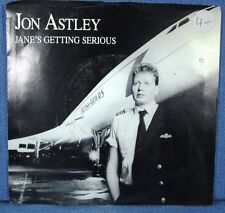 JON ASTLEY: Jane's Getting Serious/ The Animal [45] Pic Sleeve -Ships WORLDWIDE!