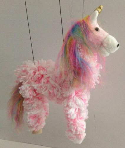 Unicorn Marionette//Licorne String Puppet