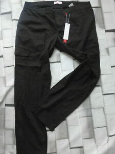 Sheego-Jeans-Trousers-Black-Ladies-Size-48-to-52-plus-with-Side-Pocket-422