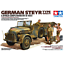 Tamiya-35305-German-Steyr-Type-1500A-01-amp-Africa-Corps-Infantry-At-Rest-1-35 miniature 1