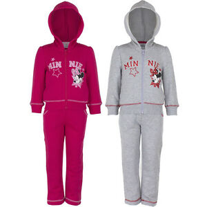 NEUF-survetement-Lot-loisir-fille-MINNIE-MOUSE-GRIS-ROSE-98-104-116-128-161