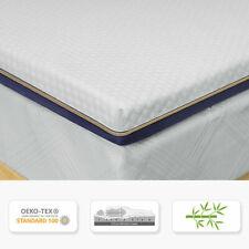 9 Zonen Topper Matratze Bambus-Aktivkohle BedStory Gel-Memoryschaum Kaltschaum