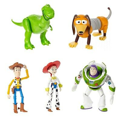 Mattel Toy Story 4 Posable Figuren 178cm Rex Woody Geschmeidig