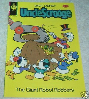 Walt Disney/'s Uncle Scrooge 185 FN- 5.5 50/% off Guide The Giant Robot Robbers