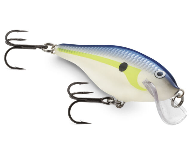 Rapala Scatter Rap Shad 7cm / VMC hooks / MORE THAN 20 COLOURS!
