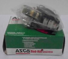 ASCO, RED HAT VALVES, SOLENOID & AIR CONTROLLED 2,3 & 4 WAY VALVES, 302662