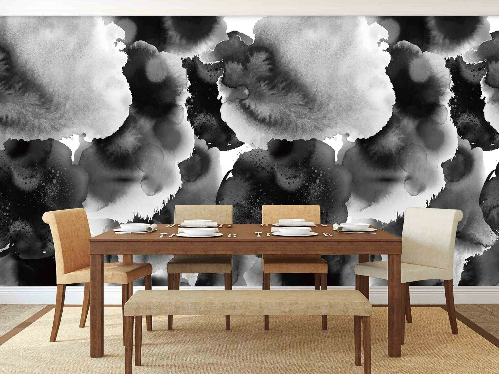 3D Ink Art Painting 455 Wall Paper Wall Print Decal Deco Indoor Wall Mural CA