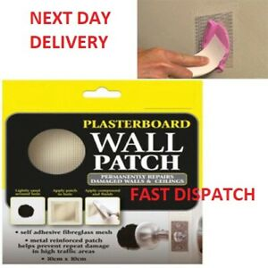 Plaster-Repair-Patch-Damaged-Plasterboard-Walls-amp-Ceilings-Hamil-Branded-Product
