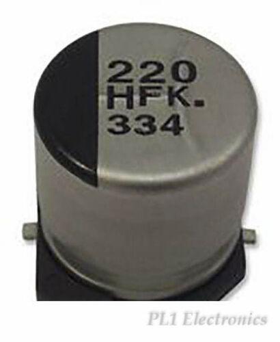 220UF ALU ELEC PANASONIC   EEEHAC221XAP   CAP 16V SMD