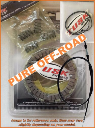 Tusk Clutch Kit Springs Cover Gasket /& Cable for Honda CR85R 2003-2007