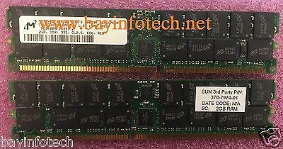 2x1GB Memory Kit Sun Ultra 25 Sun X8704A 2 x 370-7973 2GB 45
