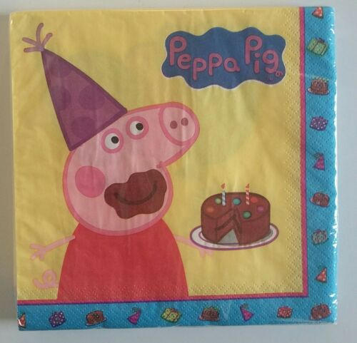 PEPPA PIG plates paper cups napkins tablecover  tea UK PARTY PACK FOR 8 GUESTS