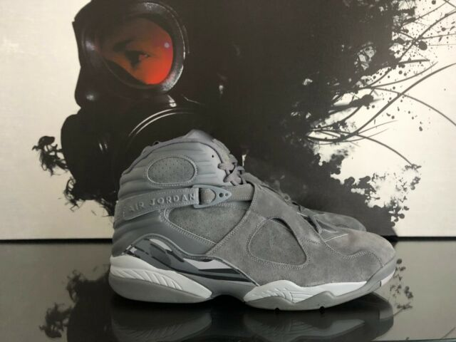 f3b9e7395f7 Nike Air Jordan 8 Retro Cool Grey/ Wolf Grey 305381-014 US Men Sz 18 ...