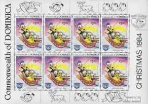 Confident Dominica Block87 Never Hinged 1984 Walt-disney complete Issue Unmounted Mint