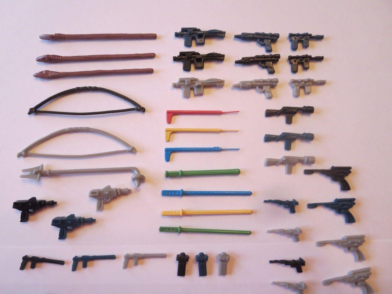 Star Wars Wars Wars Weapons For Vintage Figures Replacements 4d7eef