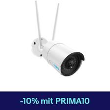 Reolink Wlan IP Kamera HD 4MP Überwachungskamera 2,4/5G Outdoor Bullet RLC-410W