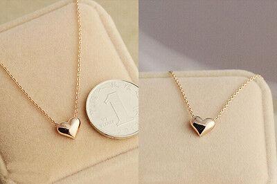 New Fashion Jewelry Women Gold Plated Heart Bib Statement Chain Pendant Necklace