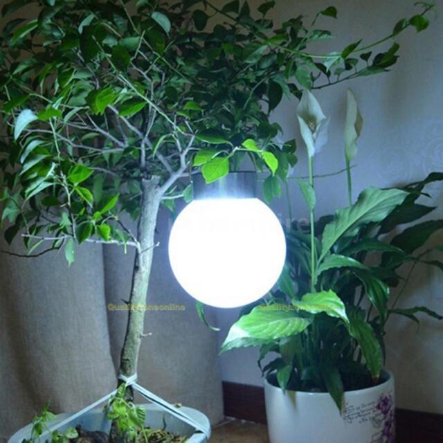 Solarlampe LED Solarleuchte Kugel Gartenlampe Außenlampe Hängelampe Nacht Licht