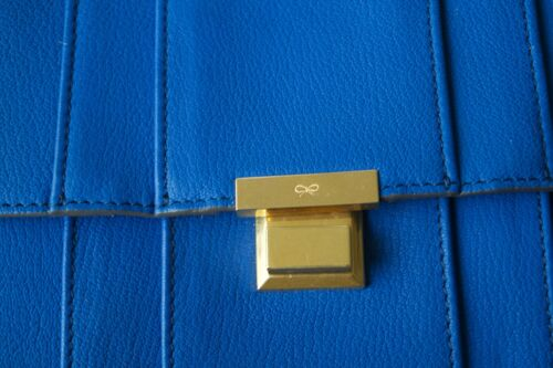 Mimosa Shoulder Hindmarch Electric Bag New £995 Gracie Blue Anya Authentic p71q7OvYR