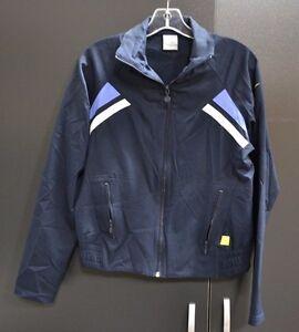 39081c796b Women s Nike Navy Blue Full Zip Windbreaker Size Medium (8-10)