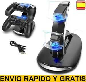 Base-de-carga-para-mando-PlayStation-4-Dock-cargador-game-controller-pad-ps4-ps