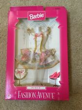 1997 Barbie FASHION AVENUE *PARTY* Mint on Card * LOVELY + Booklet! MATTEL 18155
