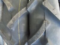 Four 500x15,5.00x15,500-15 Hay Rake Kubota L02850 Bar Lug Tractor Tires W/tubes