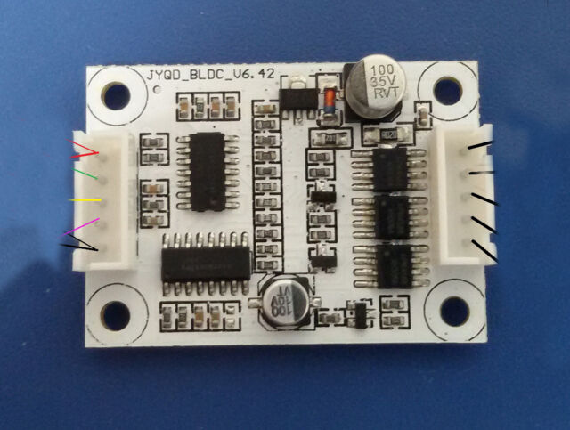 24V 3A DC Brushless Motor Controller DC Motor Control Driver Module Board