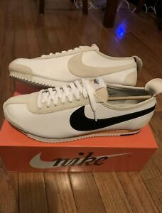 Nike Cortez'72 Deportes De Cinta Azul Blanco/Negro-Piel de ...