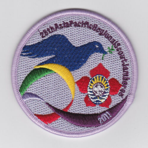2011 ASIA PACIFIC REGION APR SCOUTS Jamboree OFFICIAL SCOUT Patch