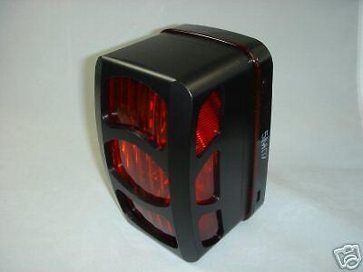 Black Billet Tail Light Covers Yamaha Rhino Led