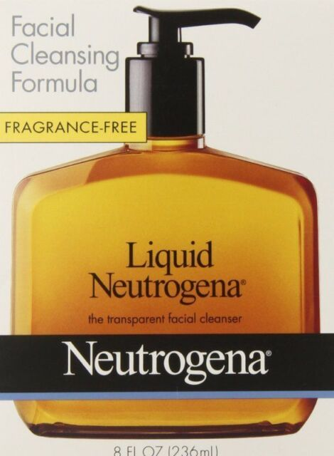 formula cleansing liquid Neutrogena facial