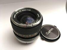 Canon FD 24mm 2.8 Chrome Nose