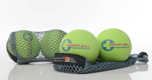 Yoga Tune Up ROLL MODEL Massage ball STARTER set in tote NEW trigger point